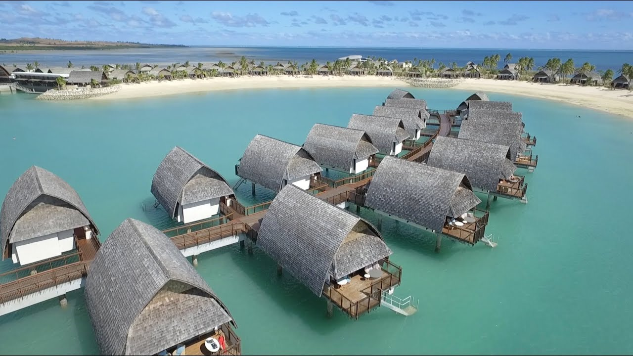 Dj Fiji Beach Overwater Bungalow International Maria Matarelli