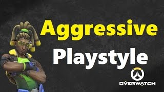 Trying Out A More Aggressive Lucio Playstyle (Overwatch)