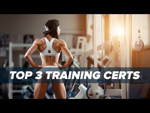 Best 3 Personal Training Certification Programs? | Tiger Fitness