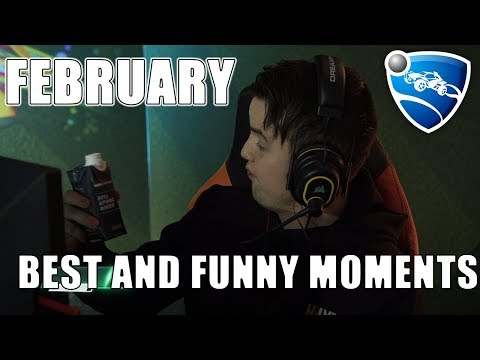 Best and Funny Moments in February! (Rocket League Twitch Clips) thumbnail