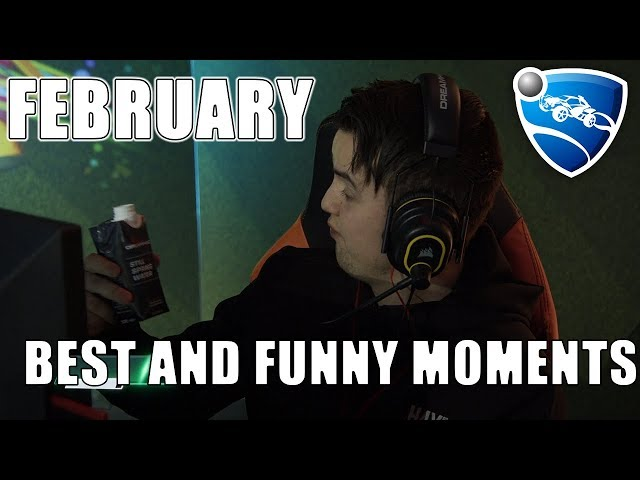 Best and Funny Moments in February! (Rocket League Twitch Clips)