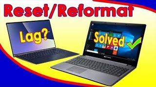 How to Reset/Reformat Laptop/Desktop PC (Filipino)