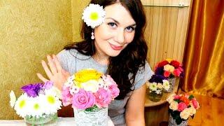 АСМР Цветы / ASMR Soft Spoken, Binaural Sound, Beautiful Flowers