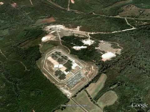 Stewart Detention Center Atlanta Ga Google Earth Youtube