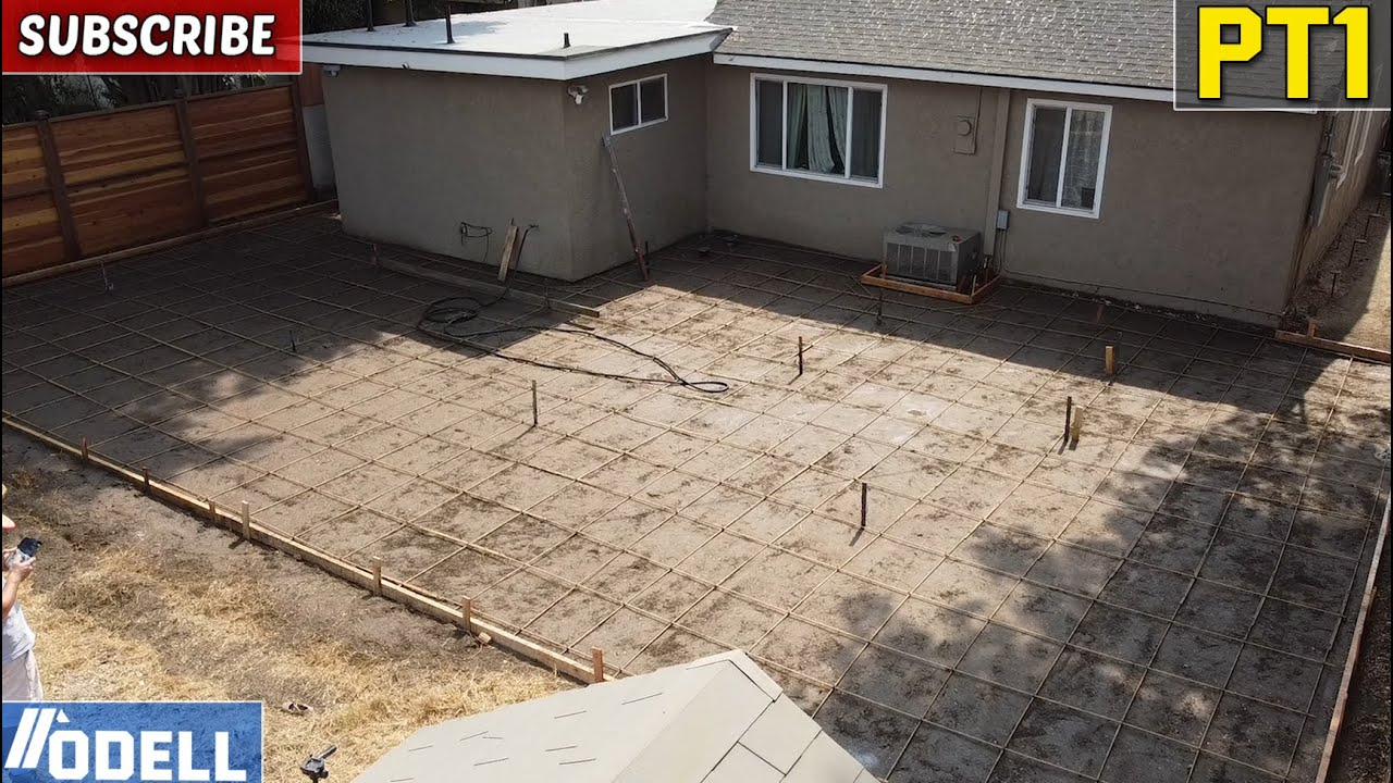 Download New Concrete Patio With Drainage Challenge (Part 1 Demo and Setup)