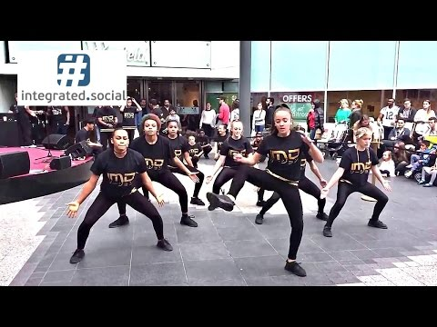 IMD Legion dance crew dancing Westfield London - Britain