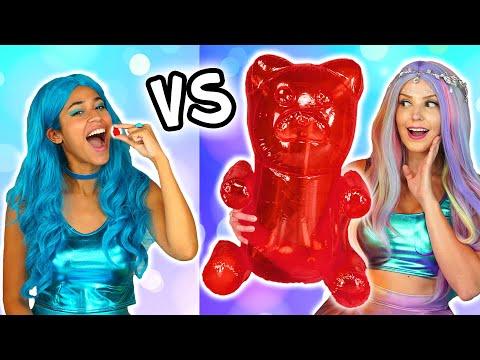 THE SUPER POPS GIANT VS TINY CHALLENGE Totally TV Challenge