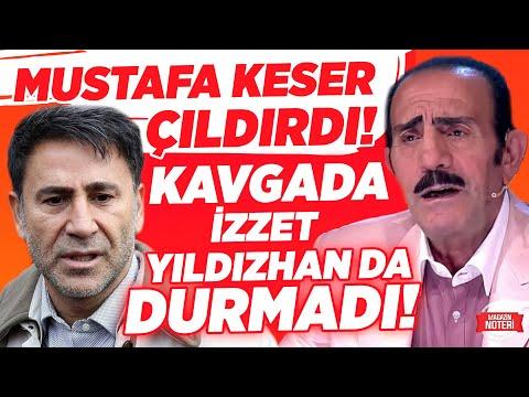 Mustafa Keser Çıldırdı!! Bülent Ersoy Kavgasında İzzet Yıldızhan da Duramadı!!  
