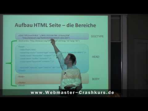 Grundgerüst Einer HTML-Seite - Verschiedene DOCTYPE-Arten