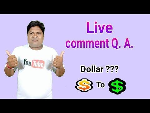 Live Comment Q. A.