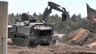 British Army receives first Terrier Combat Engineer Vehicle