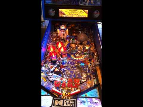 Star Wars Pinball Machine >> Star Wars Pinball Machine Data East 1992 Pinside Game Archive