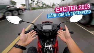 Đánh giá Exciter 150 2019 và test max speed | Vlog 99 |
