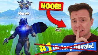 Muselk Is SECRETLY *BAD* At Fortnite Battle Royale?