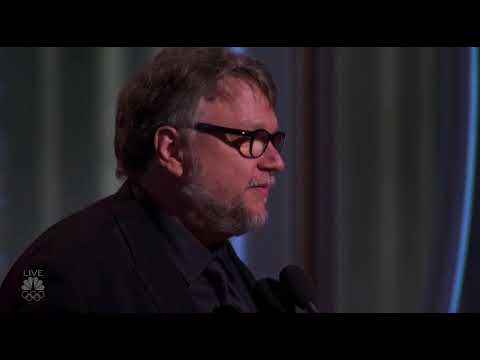 Guillermo Del Toro wins Best Director of a Motion Picture