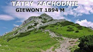 TATRY ZACHODNIE - Giewont 1894 M 03.08.2014