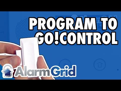2GIG DW10: Go!Control Programming