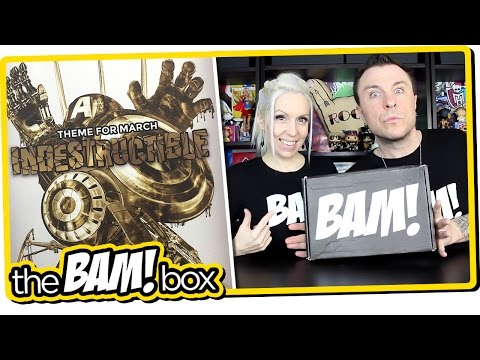 """The BAM! BOX """"INDESTRUCTIBLE"""" Unboxing Review"""