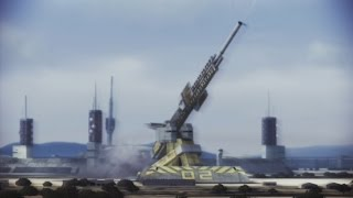 Ace Combat: Infinity Stonehenge III (Golden Ring) Co-op mission.