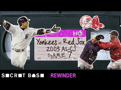 Aaron Boone\'s Game 7 walk-off home run deserves a deep rewind | Yankees-Red Sox ALCS 2003