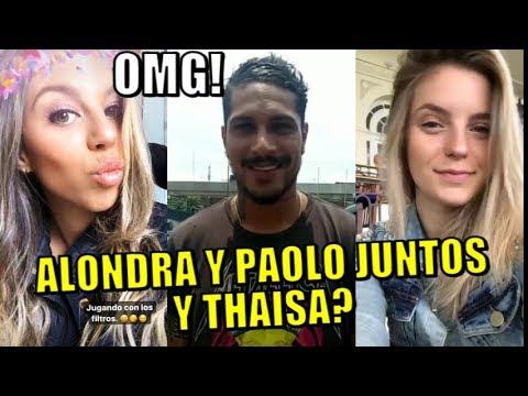 ASU!! ALONDRA Y PAOLO GUERRERO NUEVAMENTE JUNTOS Y THAISA LEAL?