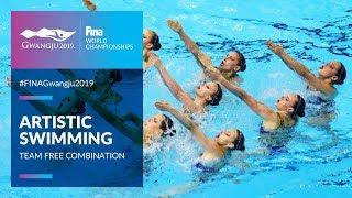 Artistic Swimming - Team Free Combination   Top Moments   FINA World Championships 2019 - Gwangju
