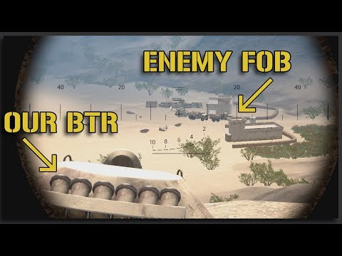 Out Range and Out Maneuver (FOB Assault) - Squad Ops 1-Life Event Squad Gameplay