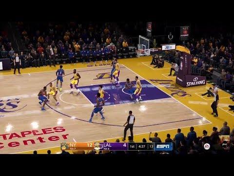 NBA LIVE 19 Knicks Vs LA Lakers LIVE STREAM