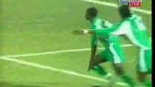 Julius Aghahowa of Nigeria