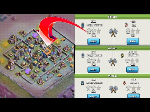 June Update Bh8 Base 2018 with Extra Walls   CoC Best Bh8 Base Design w/PROOF   Clash of Clans