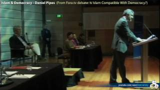 Islam, Democracy and Sharia Law - Daniel Pipes