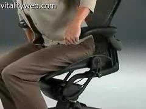 Herman Miller Aeron Chair Forward Tilt Adjustment Youtube