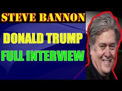 Steve Bannon ❤Donald Trump Full Interview On Sirius National News Steve Bannon  Breitbart