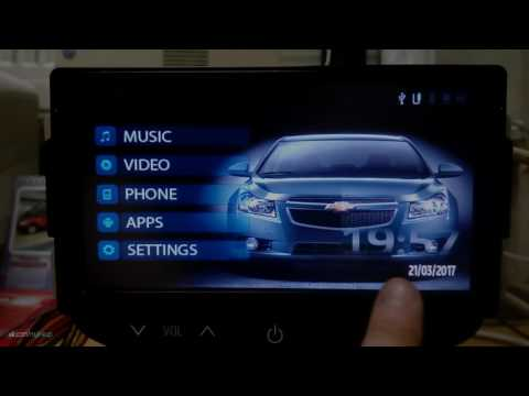 New Theme For Chevrolet Cruze (MyLink) RUS/POR/eng