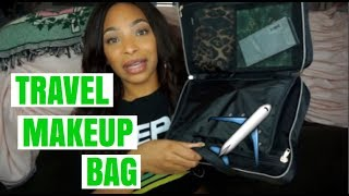 Whats In My Travel Makeup Bag | TSA Approved