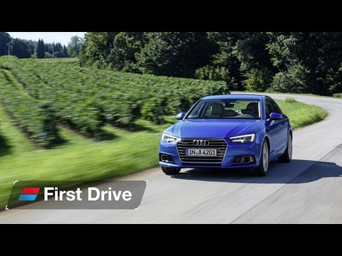 2015 Audi A4 first drive review