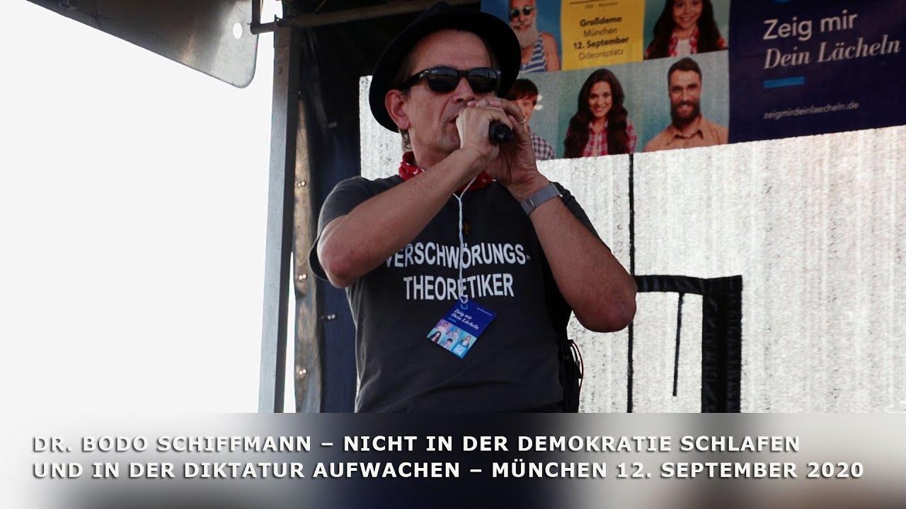 Dr. Bodo Schiffmann – Nicht in der Demokratie schlafen und in der Diktatur aufwachen – 12.9.2020
