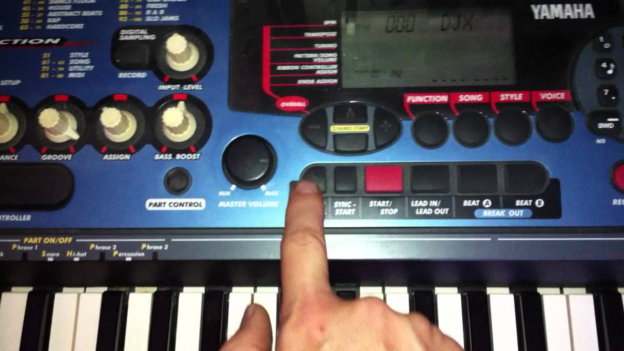 Yamaha Djx Youtube