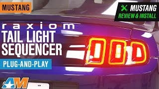 2010-2020 Mustang Raxiom Tail Light Sequencer - Plug-and-Play Review & Install