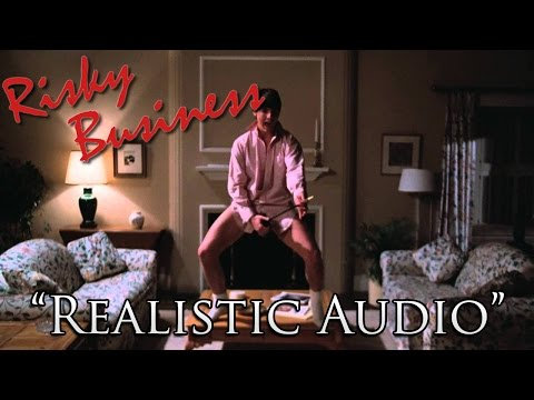 "Risky Business Dance with ""Realistic"" Audio - (No Music)"