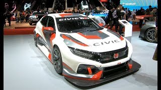 HONDA CIVIC TYPE R TCR RACING CAR JAS MOTORSPORT NEW MODEL 2018 WALKAROUND