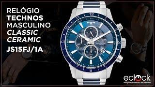 81ca66634ccef Relógio Technos Masculino Classic Ceramic JS15FJ 1A - Eclock ...