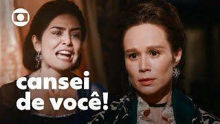 Rivais? Teresa Cristina e a Condessa tem briga feia!   Nos Tempos do Imperador   TV Globo