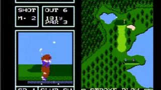 Golf Japan course for famicom disk system