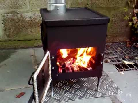 Homemade Ammo Box Woodburner Stove Youtube