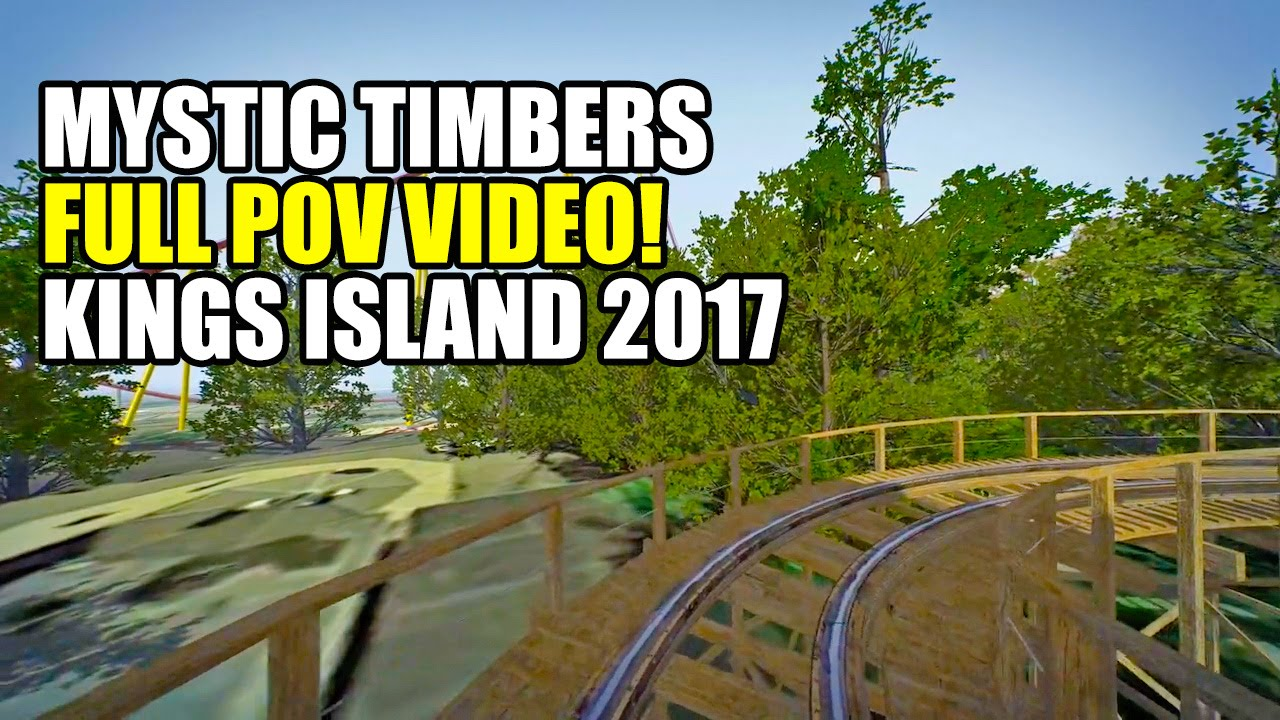 Kings Island Mystic Timbers Review
