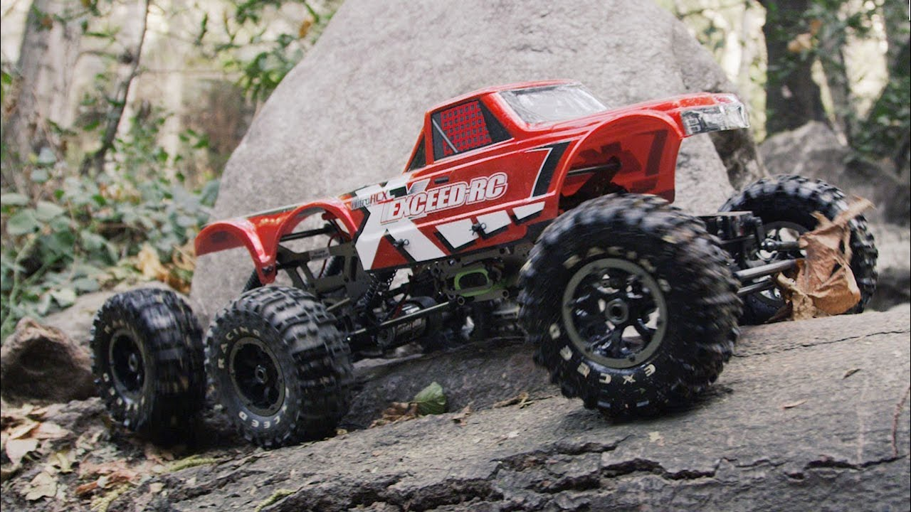 Exceed Rc Madtorque 6x6 Crawler In Action 4k Youtube