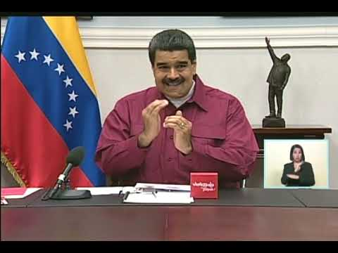 Maduro anuncia aumento salarial desde el 1 noviembre 2017 a Bs. 456.507