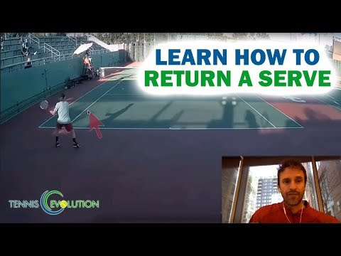 Tennis Online Lessons | How To Return Serve | National Junior Champion