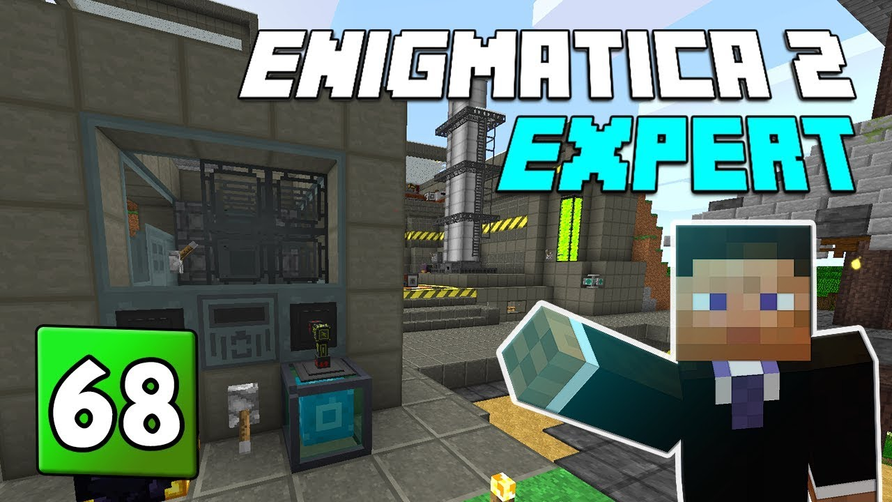 Enigmatica 2: Expert Mode - EP 68 Fission Reactor & Draconic Cores